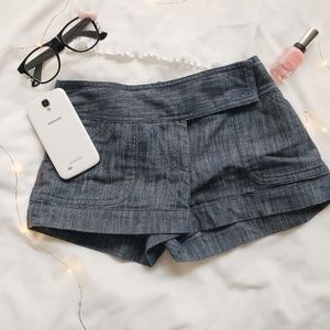 Charlotte Russe Shorts - Charlotte Russe soft denim short